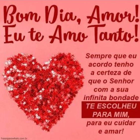 Imagens De Bom Dia Amor Imagens Para Whatsapp